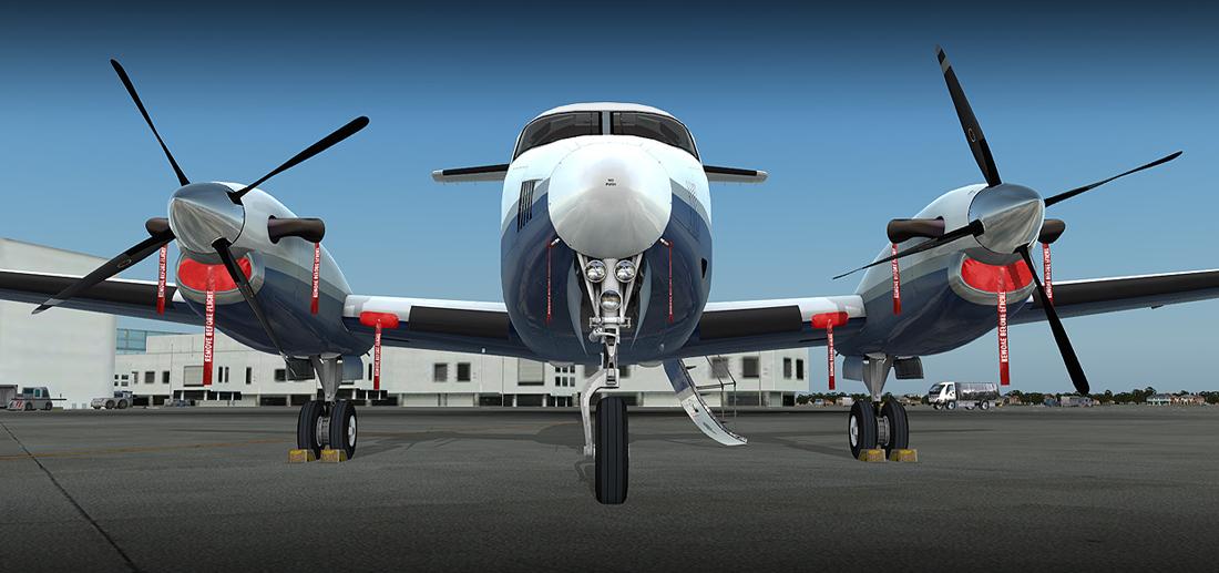 B200 KING AIR HD SERIES FSX/P3D