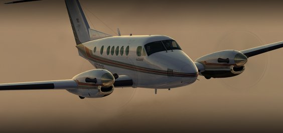 B200 KING AIR HD SERIES FSX/P3D
