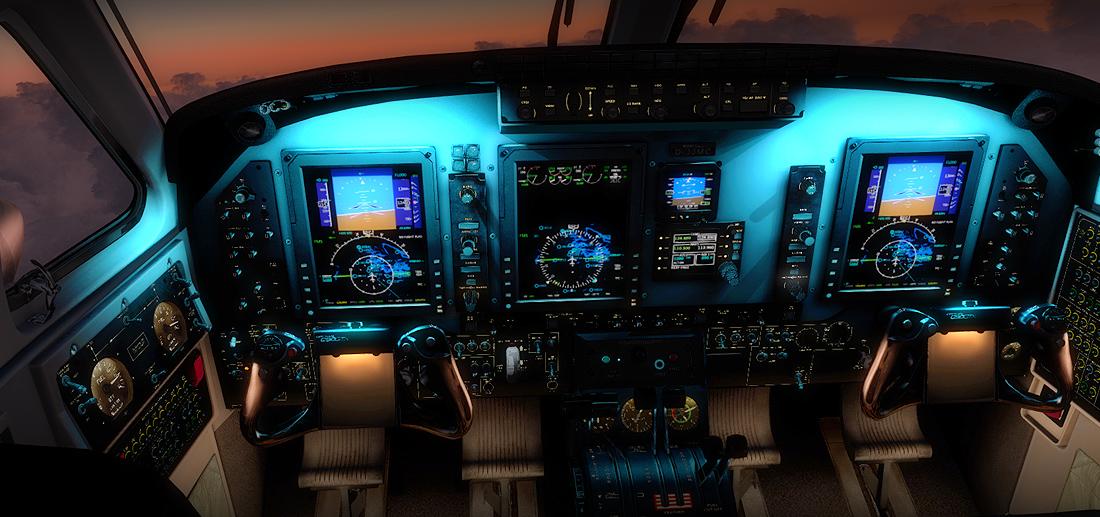 C90 GTX KING AIR HD SERIES FSX/P3D
